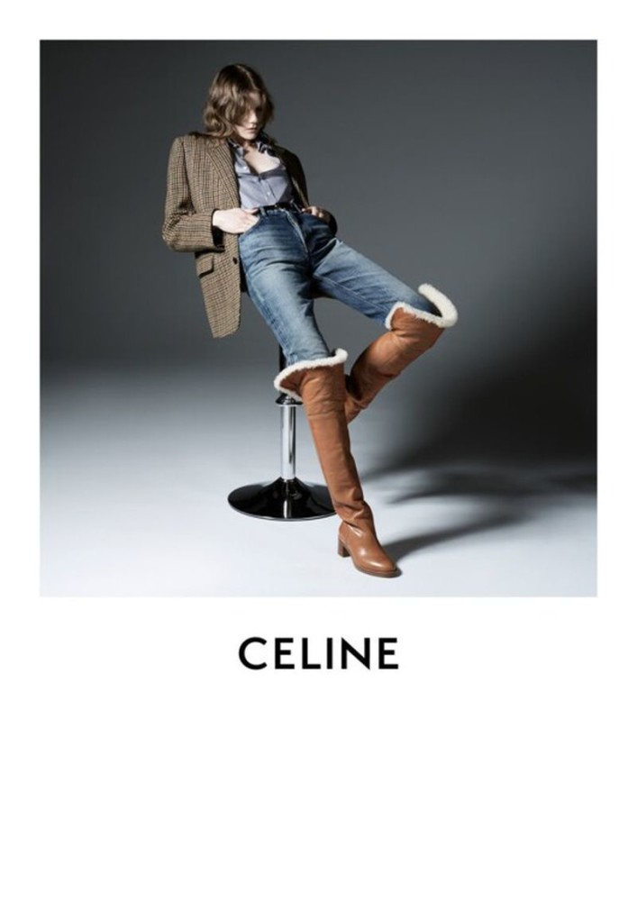 MARLAND BACKUS for Celine campaign 2019