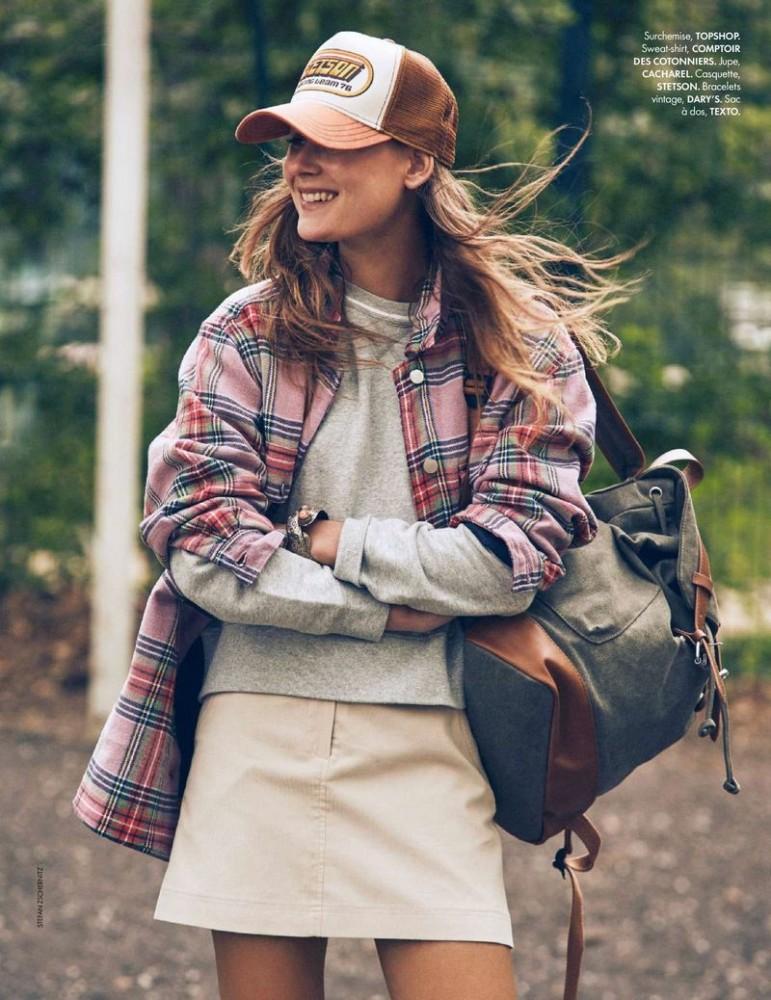 VERA VAN ERP for Elle France by Stefan Zschernitz