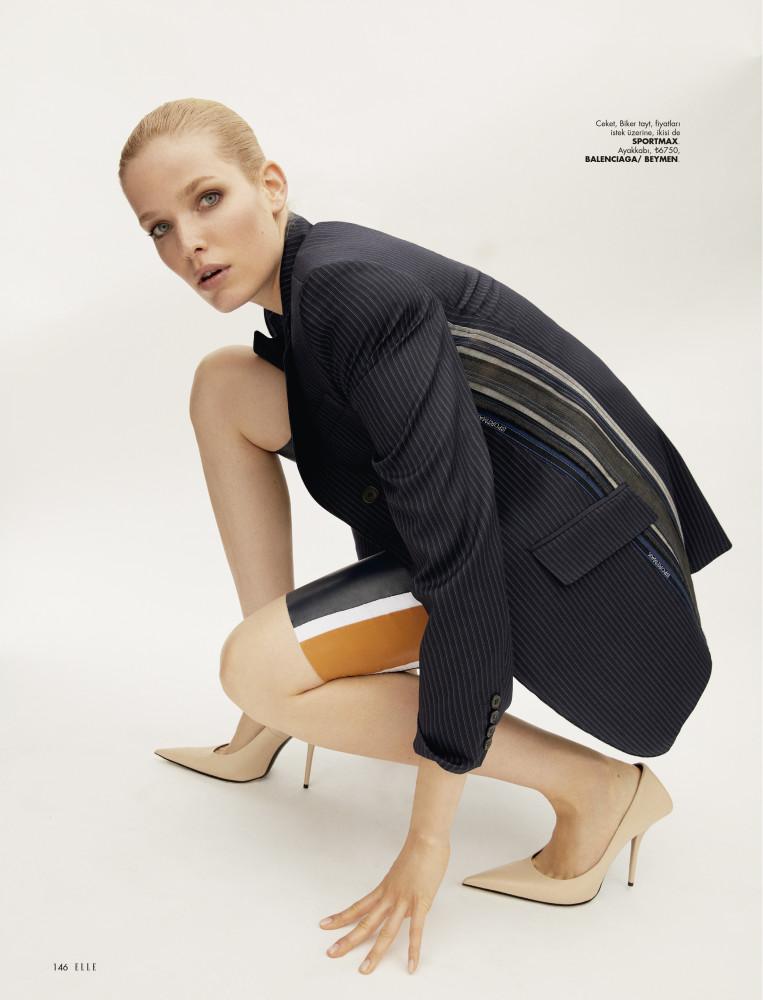 ALISA AHMANN for Elle Turkey by Emre Guren