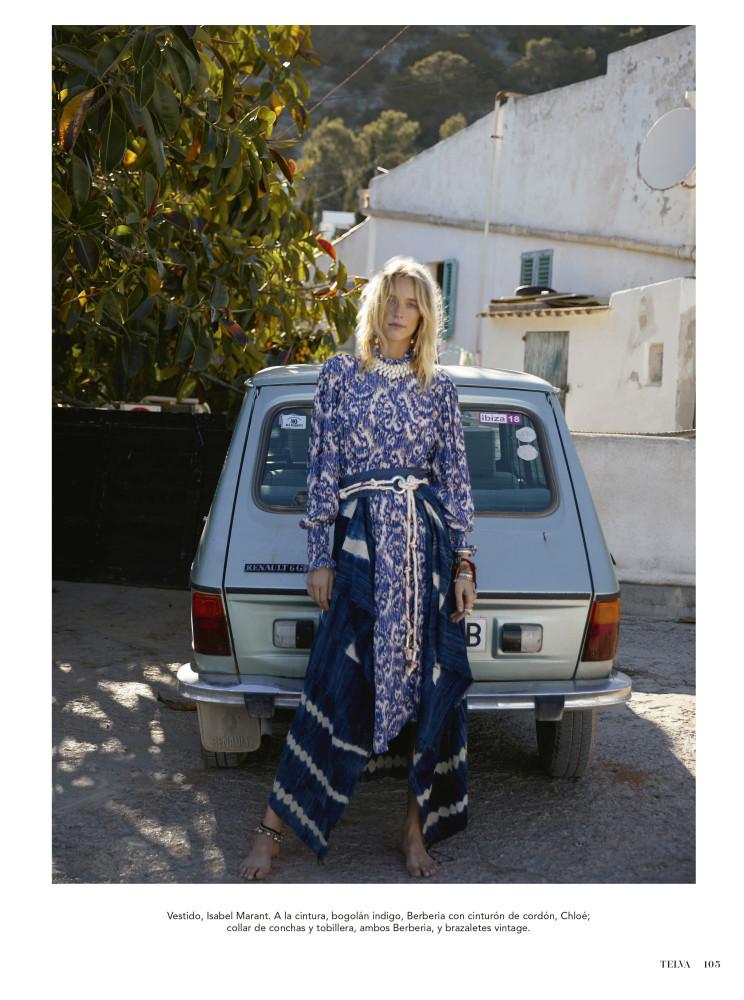 FRANZI FRINGS for Telva magazine by Monica Suarez de Tangil
