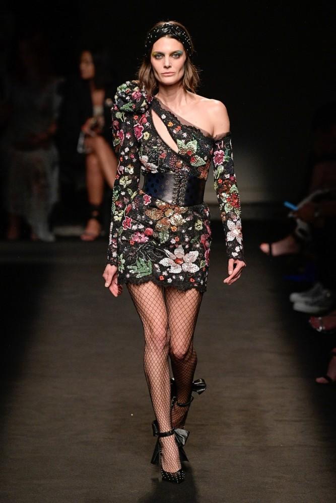 MARINA PEREZ for Dundas show Haute Couture SS20