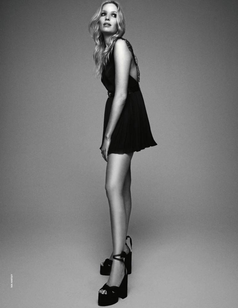ALISA AHMANN for Elle Italy by Nik Hartley