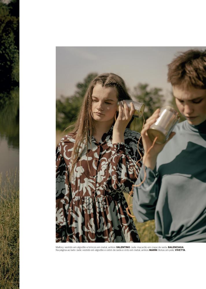 MALLORY for Vogue Portugal by Noemi Ottilia