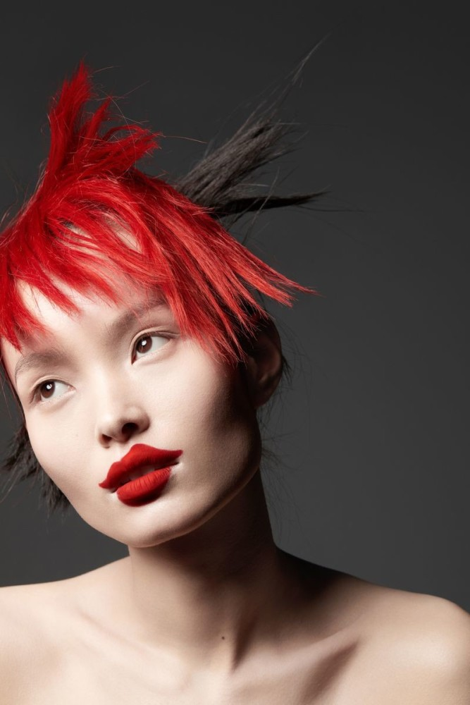 LING LIU for Vogue China by Jumbo Tsui
