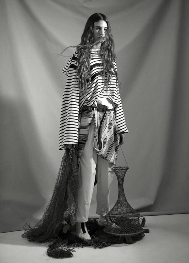 ELODIA PRIETO for Metal magazine by Juliette Alleaune