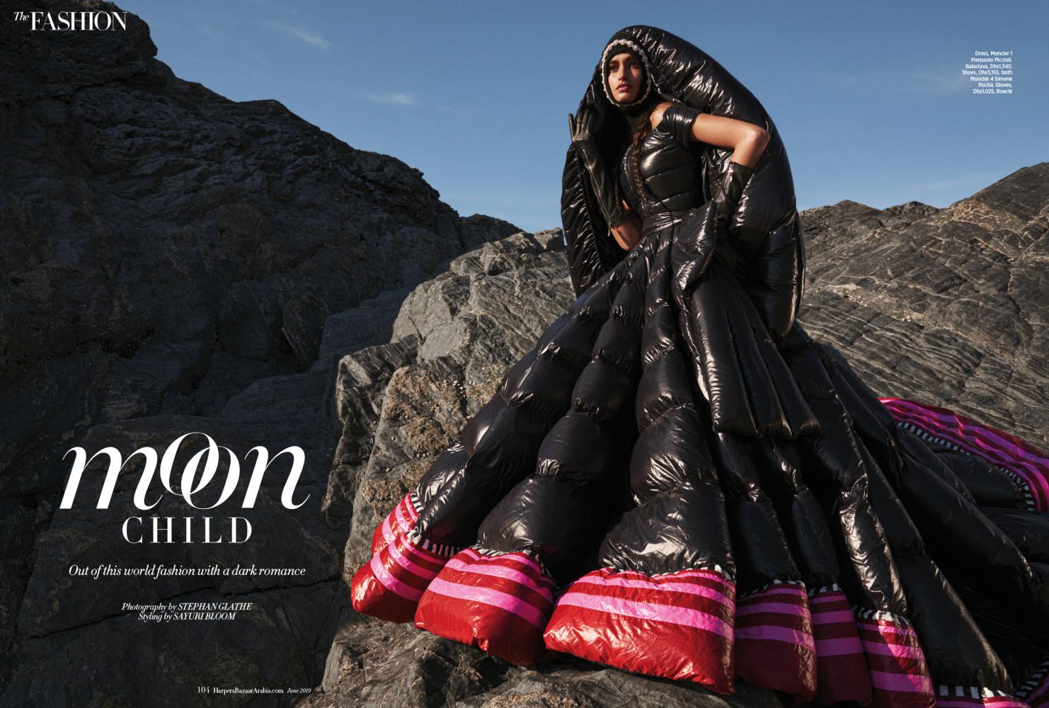 GIZELE OLIVEIRA for Harper´s Bazaar Arabia by Stephan Glathe