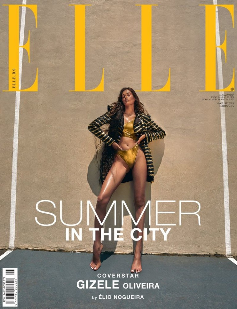 GIZELE OLIVEIRA for Elle Serbia by Elio Nogueira