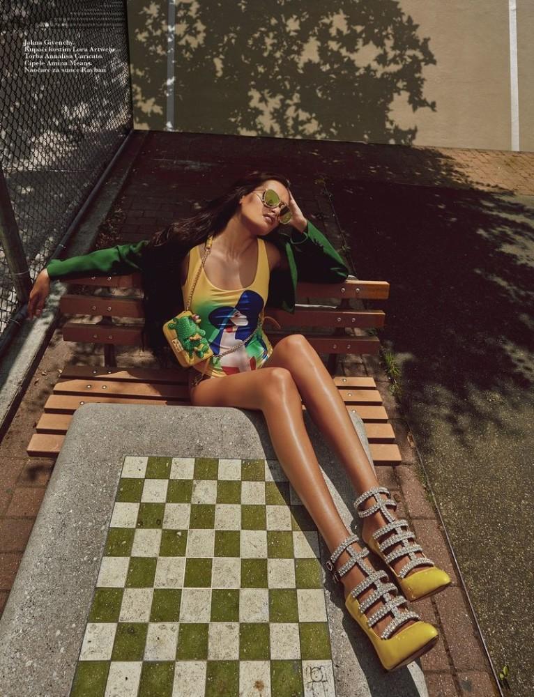 GIZELE OLIVEIRA for Elle Serbia by Elio Nogueira