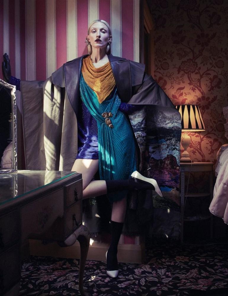 MAGGIE MAURER for Vogue Spain by Emma Summerton