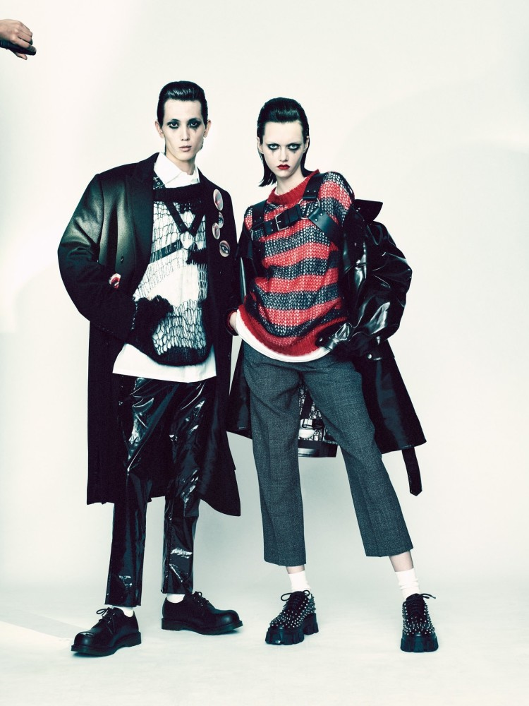STEINBERG for Tmagazine by Paolo Roversi