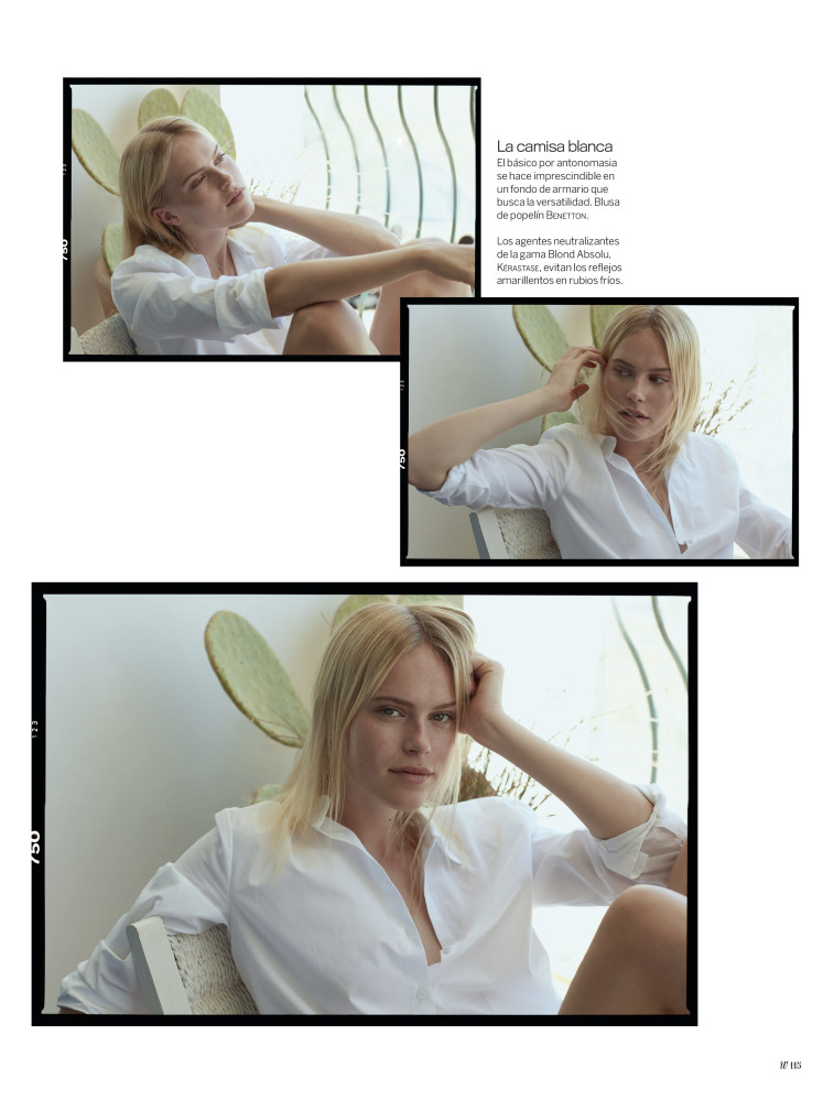 LINDE for Woman - Madame Figaro magazine by Edu Garcia