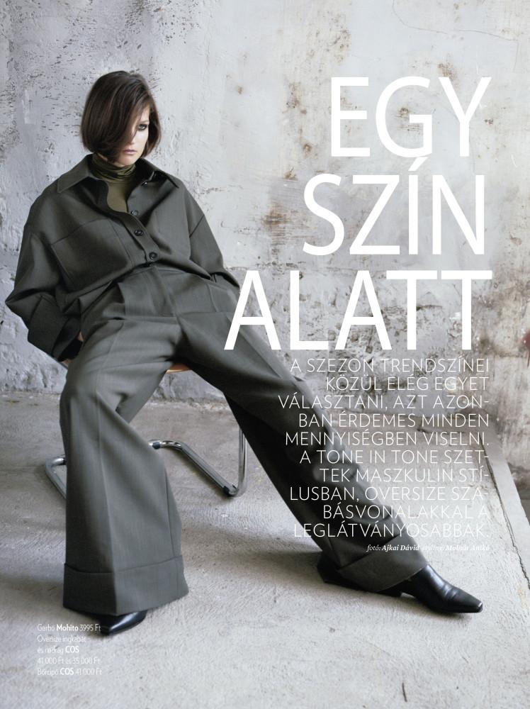 ELINA for Glamour Hungary by Ajkai David