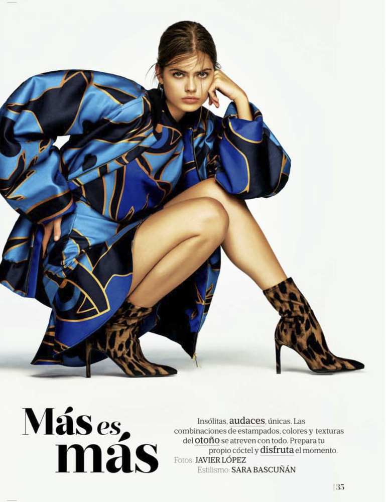 Gwen for Mujer de Hoy by Javier Lopez