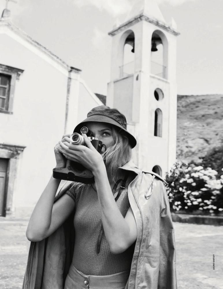 ALISA AHMANN for Elle Italy by Laurie Bartley