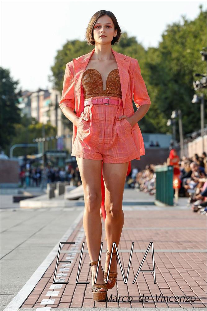 LINE UP GIRLS in Milan Fashion Week SS20