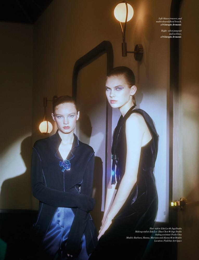 BARBARA SHILOVA for Vogue Hong Kong by Cherry Mui