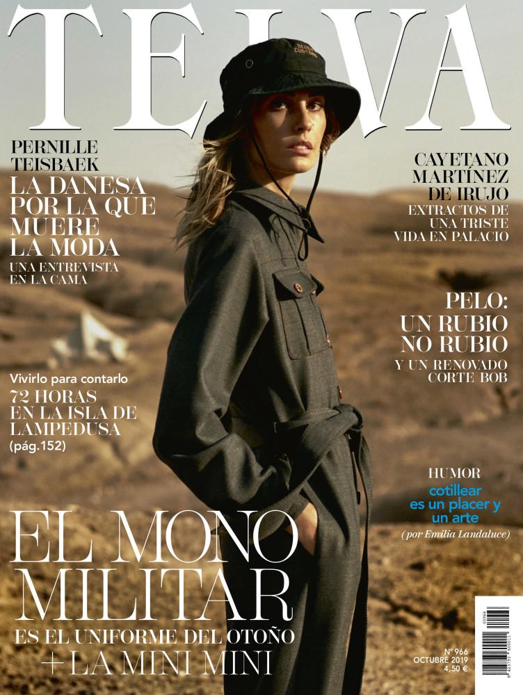 NADJA BENDER for Telva magazine by Tomas de la Fuente