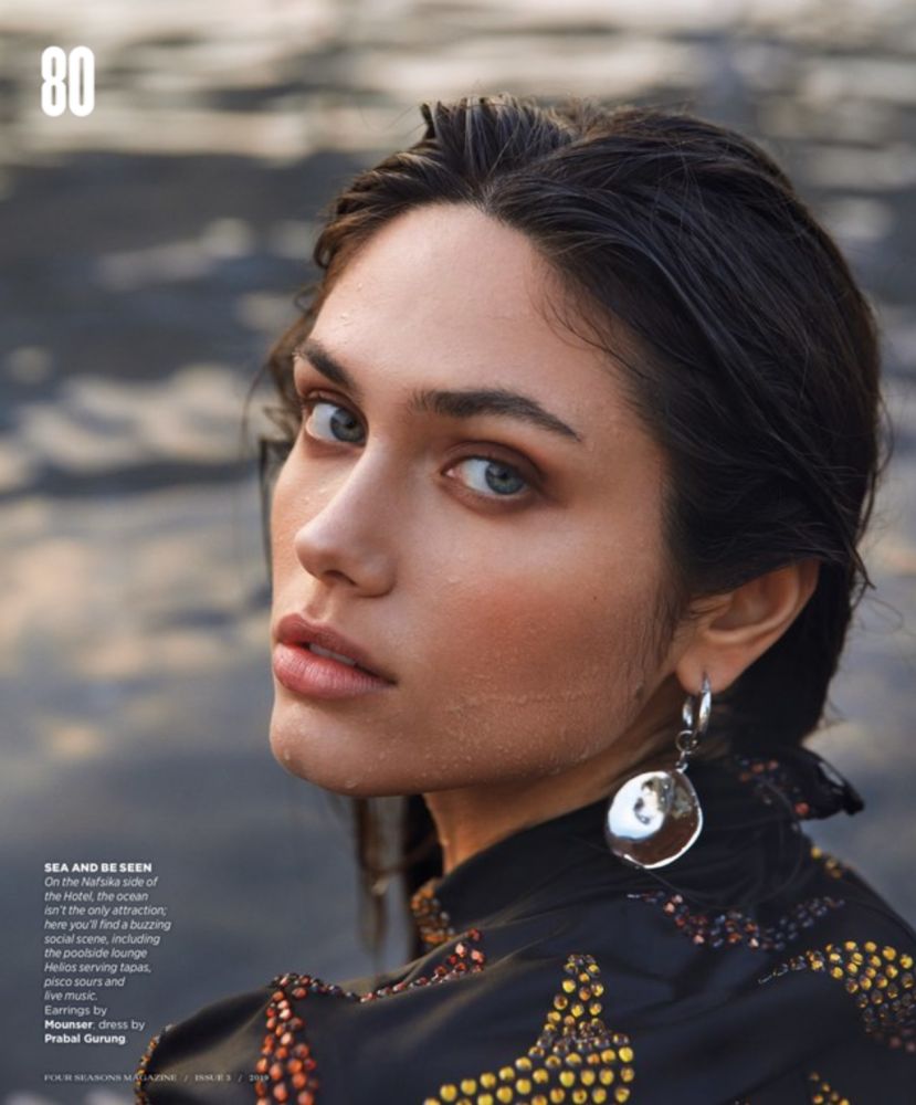 VIKA for Four seasons magazine by Emre Guven