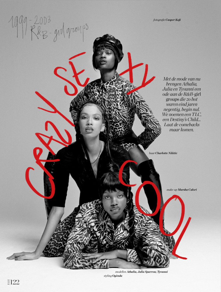 TYVANNI for Elle Netherlands by Casper Kofi