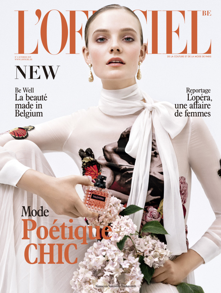 NIMUE for L´Officiel Belgium by Frederic Bastin