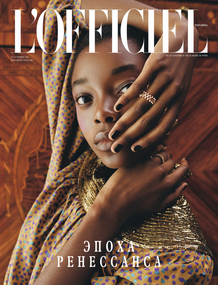 OLIVIA ANAKWE for L´Officiel Ukraine by Gus&Lo