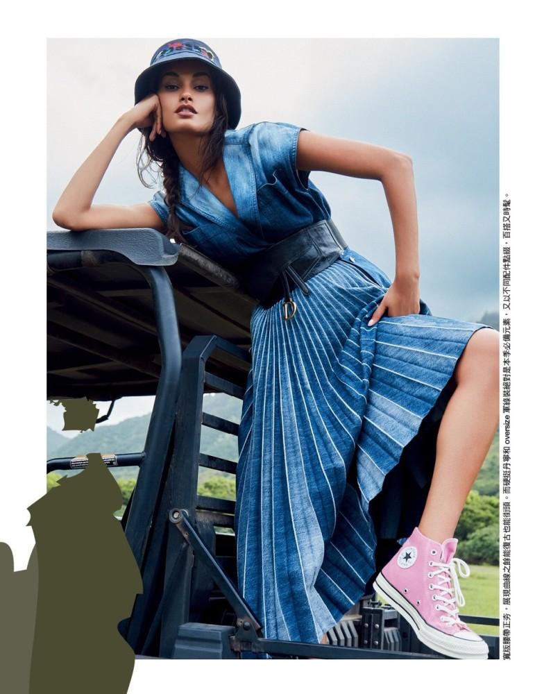 GIZELE OLIVEIRA for Vogue Taiwan by Enrique Vega