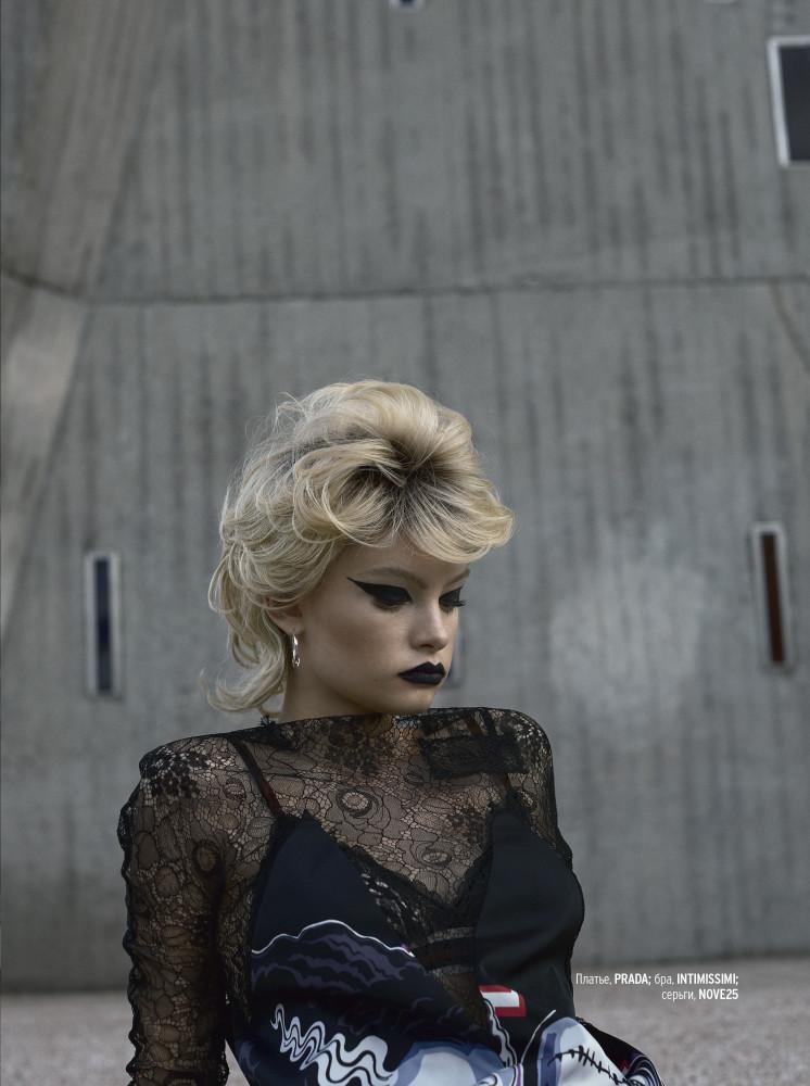 BARBARA SHILOVA for Marie Claire UA by Gautier Pellegrin