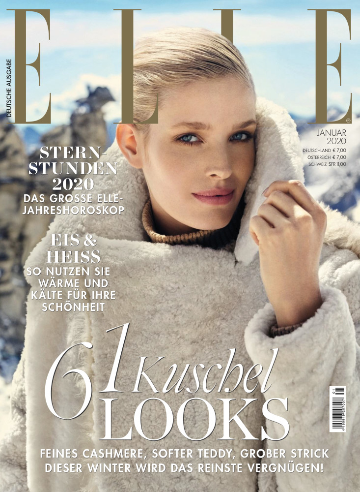 ALISA AHMANN for Elle Germany by James Meakin