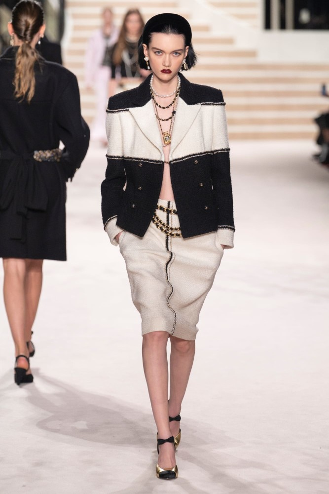 STEINBERG for Chanel Prefall FW20 show