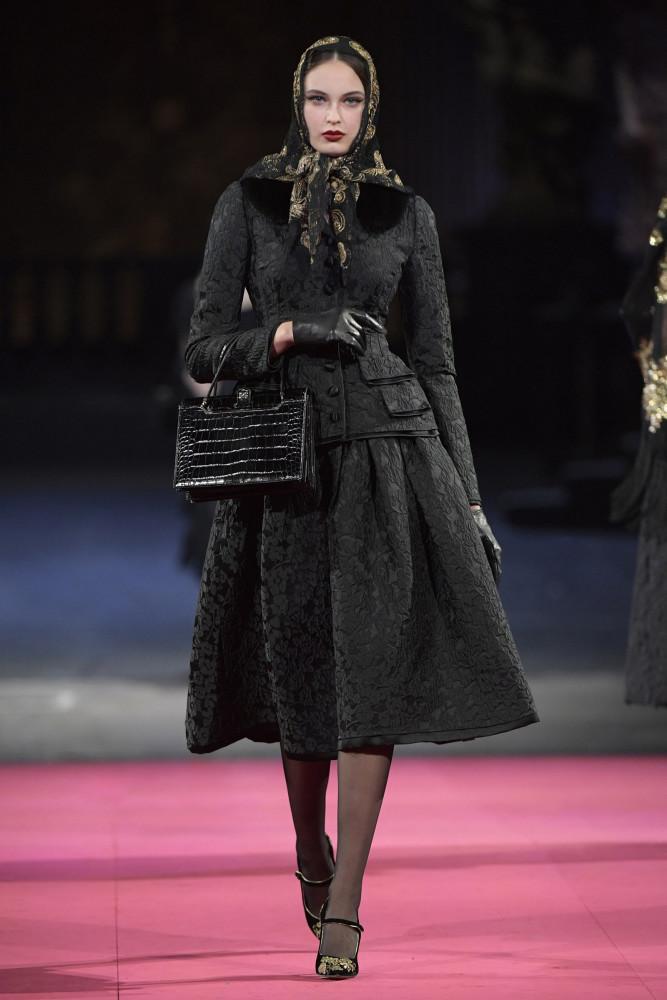PIA for Dolce & Gabbana prefall FW20 show