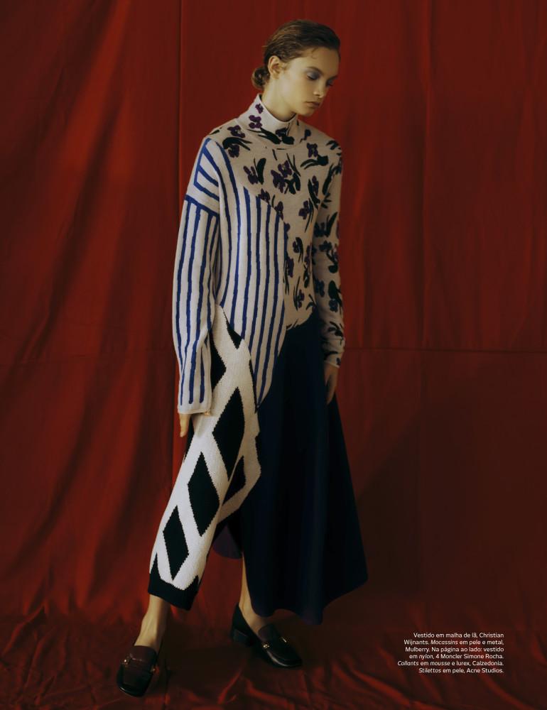 BARBARA SHILOVA for Vogue Portugal by Ricardo Santos