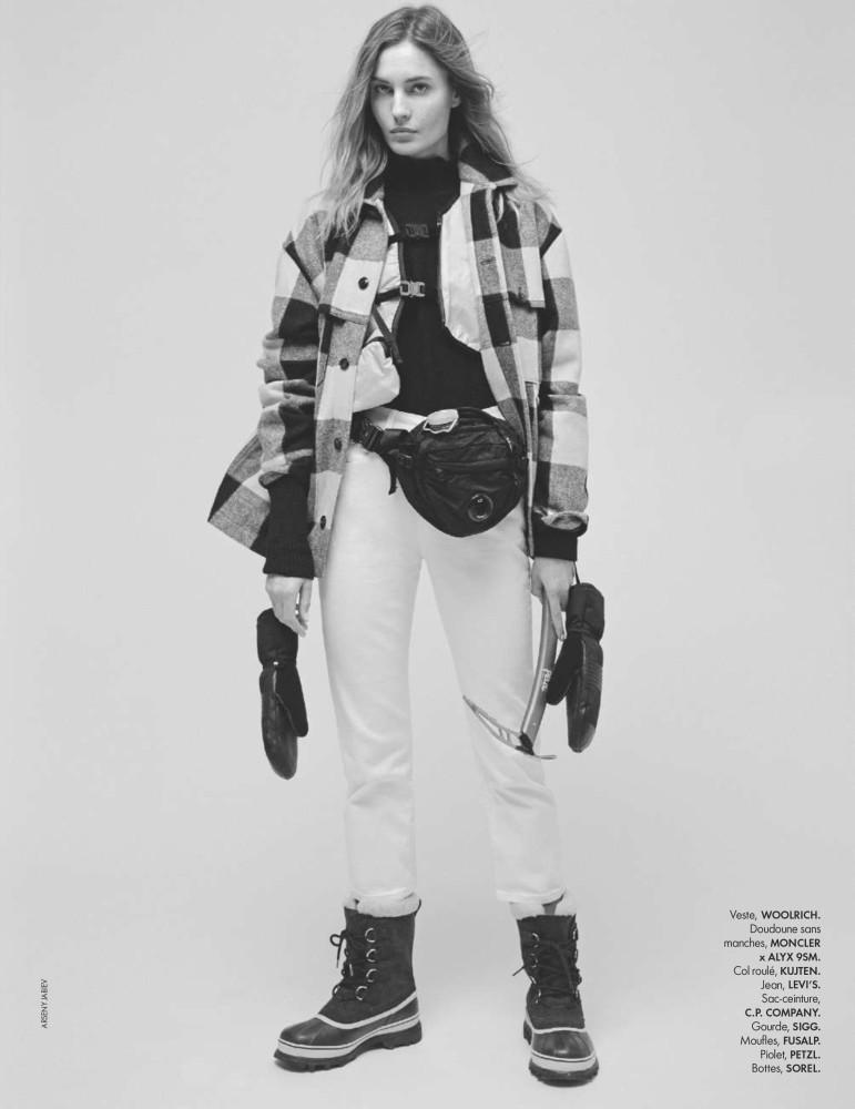 NADJA BENDER for Elle France by Arseny Jabiev