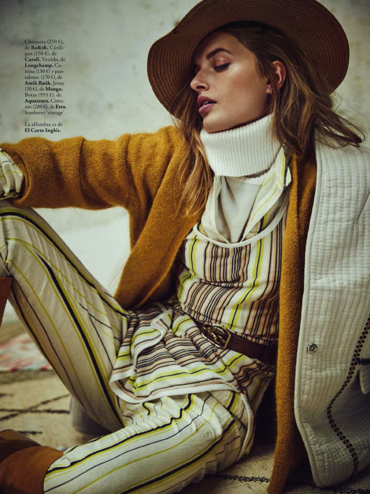 FRANZI STEGEMAN for Elle Spain by Mario Sierra