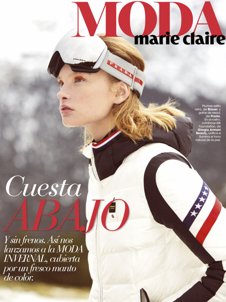 BARBARA SHILOVA for Marie Claire Spain by Sergi Pons