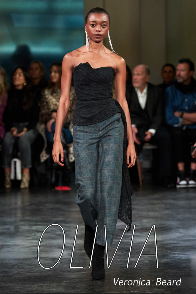 LINE UP GIRLS for New York fashion week FW20