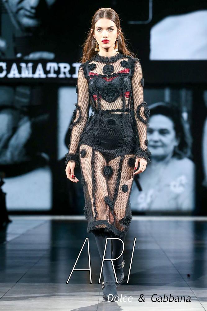 LINE UP GIRLS in Milano Fashion Week FW20