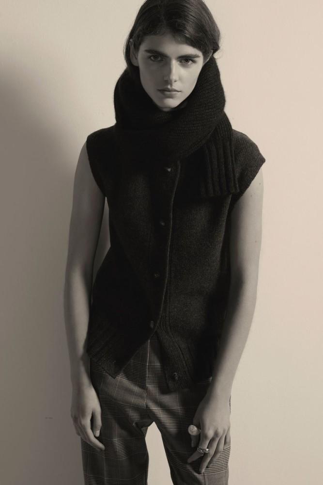 MAYA GUNN for Eudon Choi catalogue