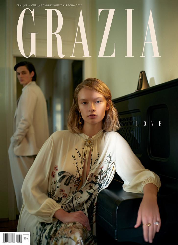 BARBARA SHILOVA for Grazia by Vladimir Vasilchikov