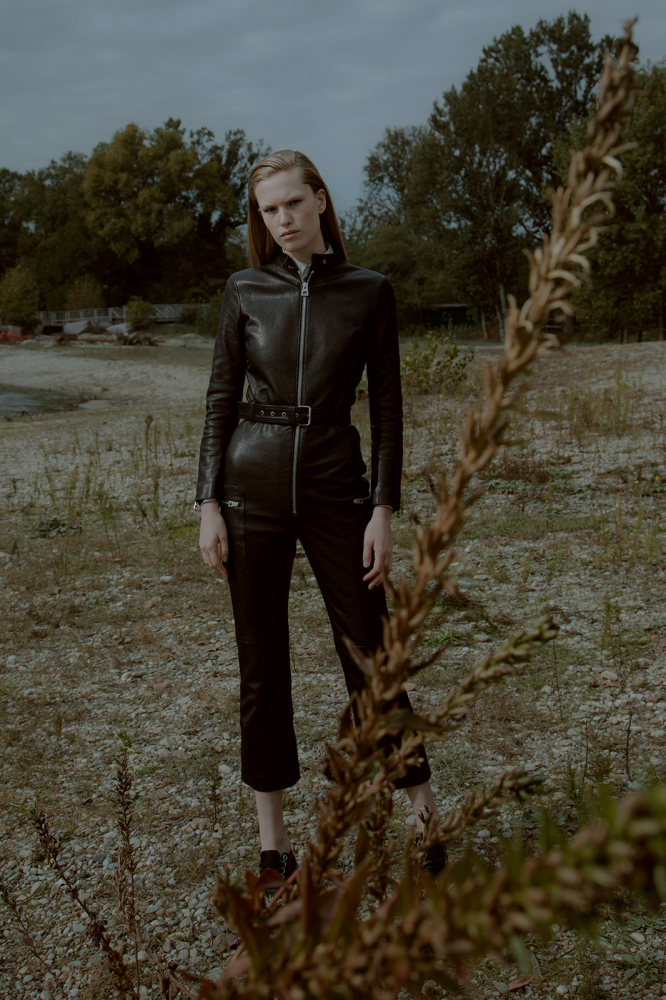 Leanne De Haan for Metal magazine by Ottavia Di Leo