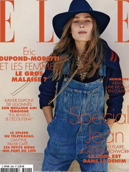 Vera Van Erp for Elle France  by Sam Hendel