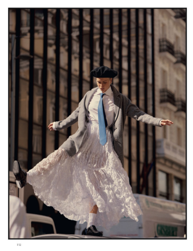 Steffi Cook on Harper's Bazaar Spain by Javier Biosca