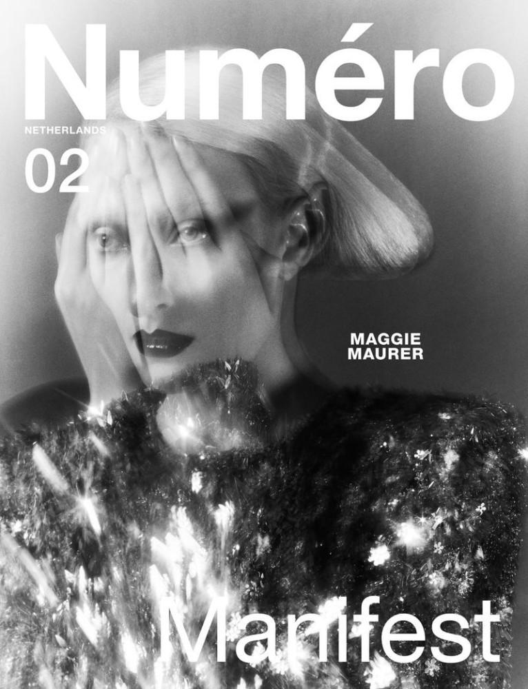 MAGGIE MAURER  FOR NUMÉRO NETHERLANDS  BY ELIZAVETA PORODINA