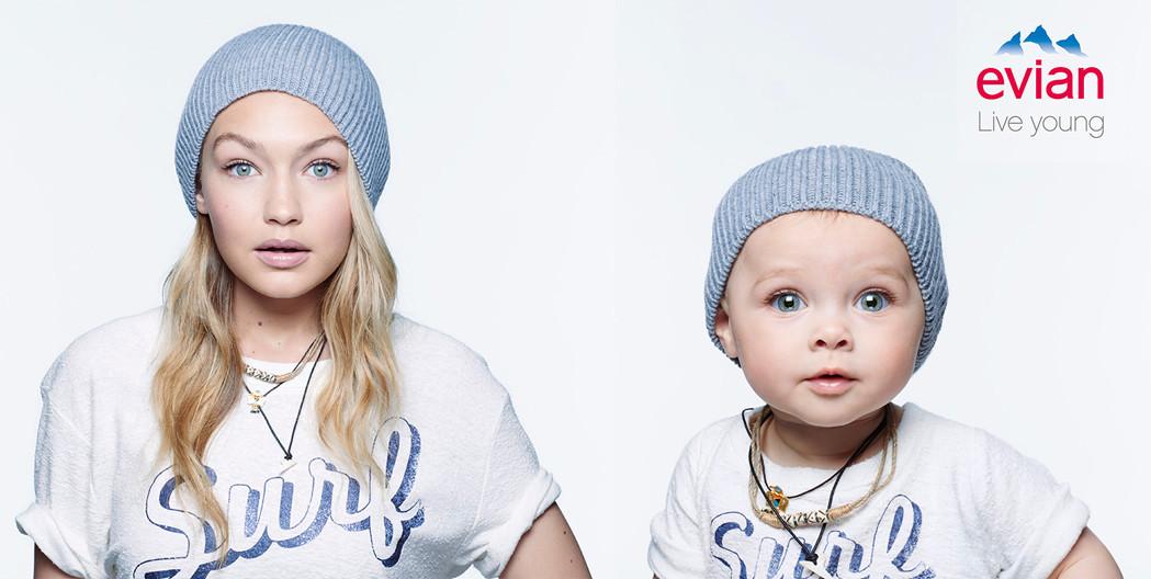 Les bébés d'Évian !