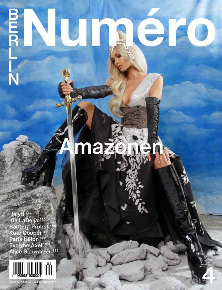 Charlotte Rutherford for NUMERO BERLIN X PARIS HILTON