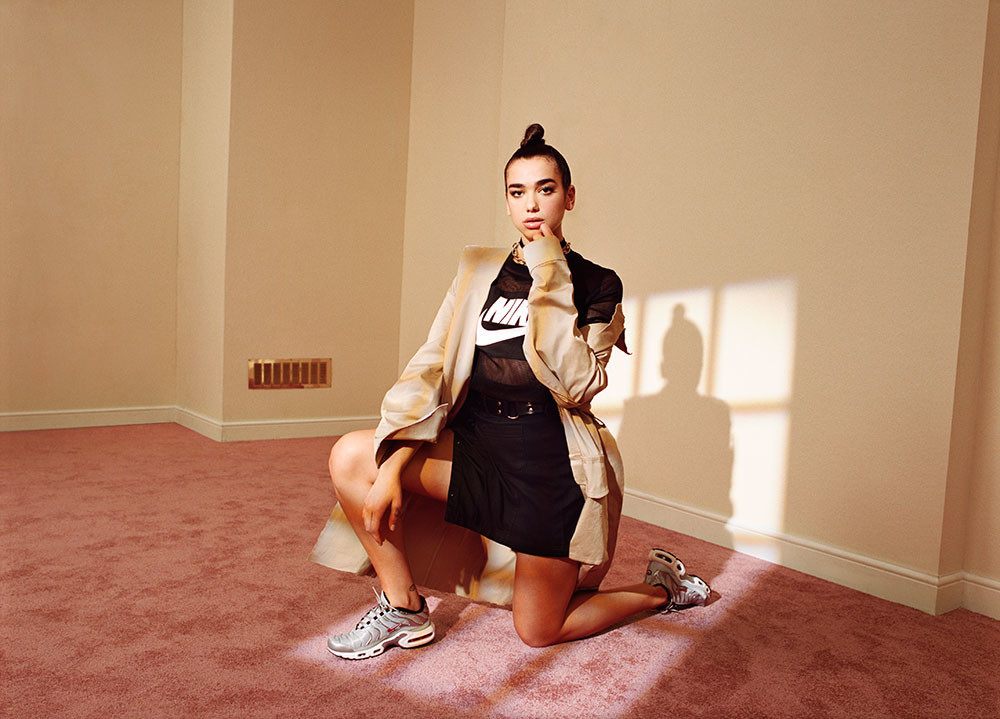 Bea Sweet & Michelle Humphrey x Dua Lipa x Foot Locker