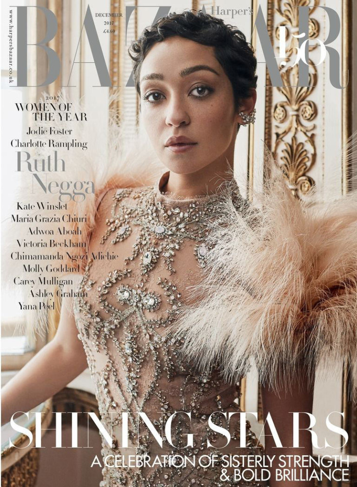Michelle Humphrey for the cover of HARPER'S BAZAAR x RUTH NEGGA