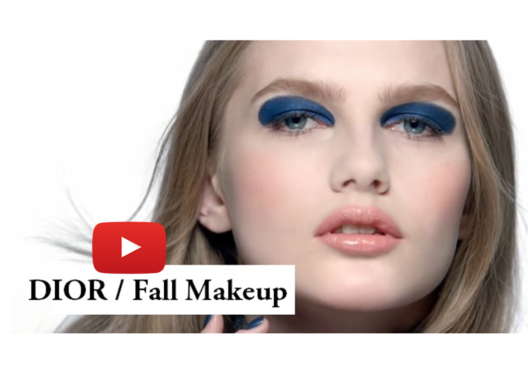 Aneta Pajak / Dior 'Cosmopolite' Fall Makeup Collection 2015