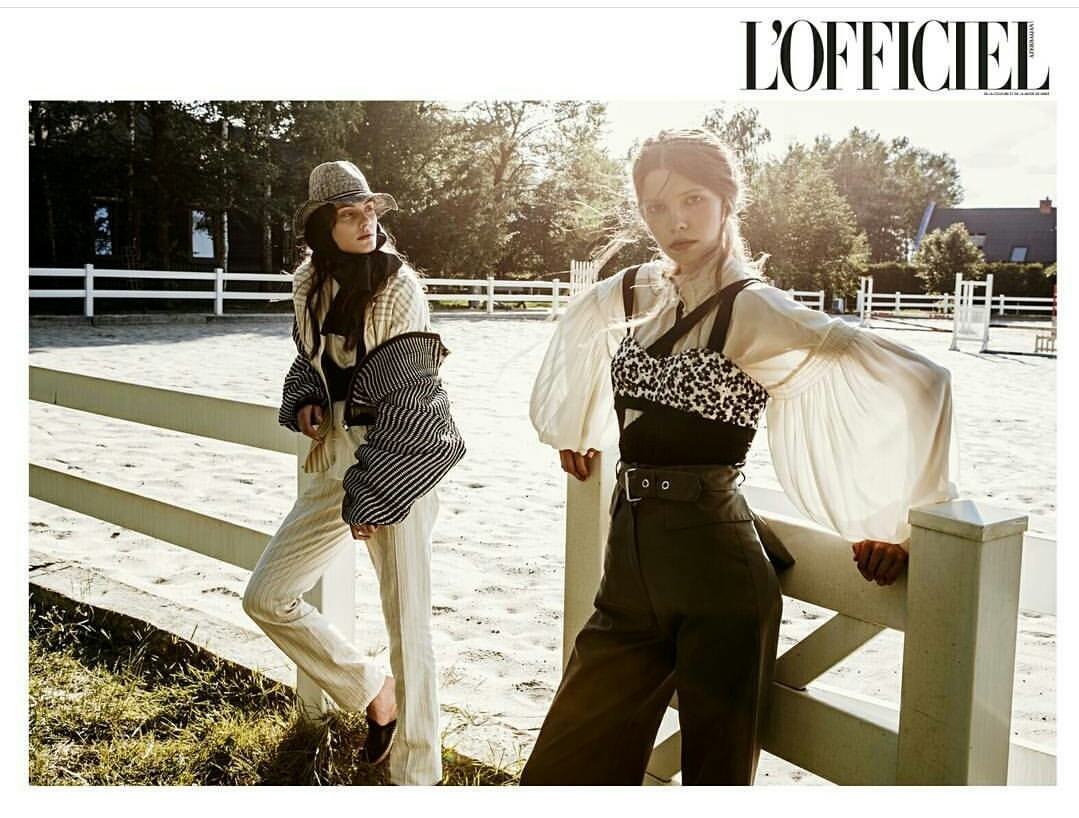 GABRIELA & ZUZANNA / Editorial for Lofficiel Azerbaijan