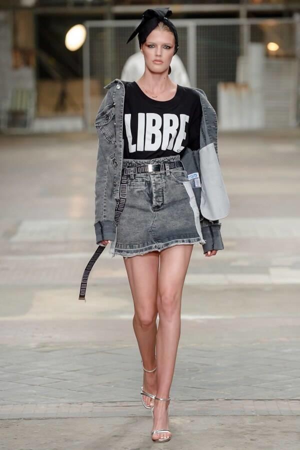 Agata S. for LATINA fashion show
