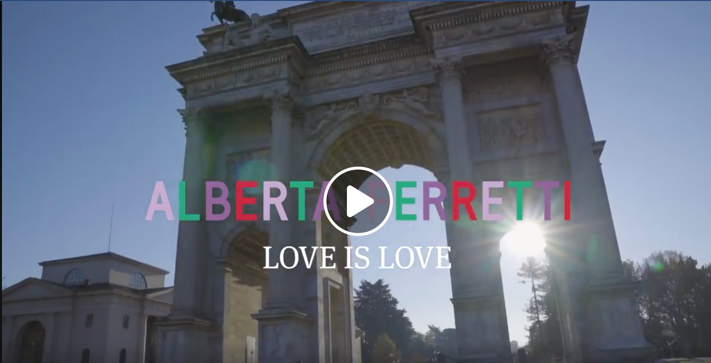 Agata Syfert for Alberta Ferretti, Love is Love 2019